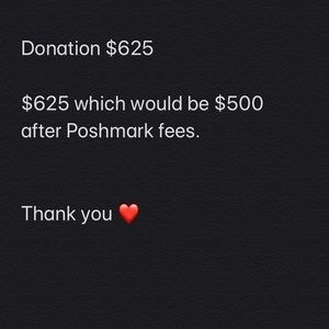 Other - Donation $625